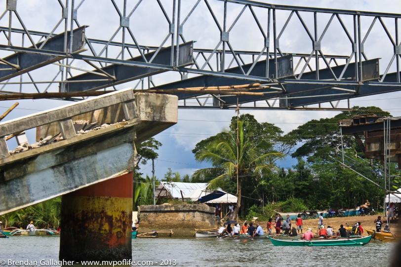 Bohol Day 1 - Bridge close up
