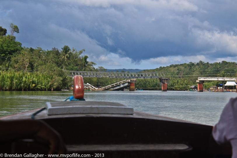 Bohol Day 1 - Bridge First view