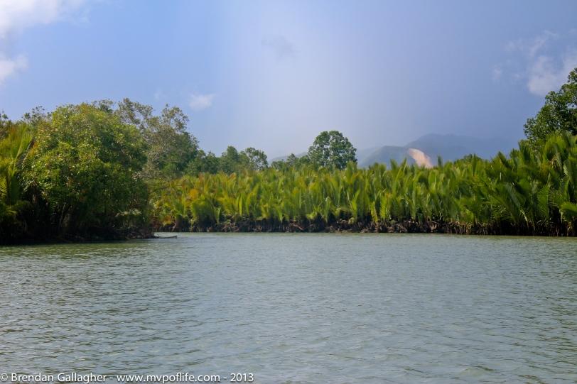 Bohol Day 1 - River:hills